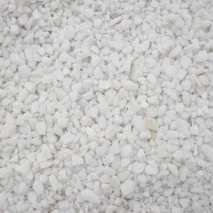 Hvide dekorative sten