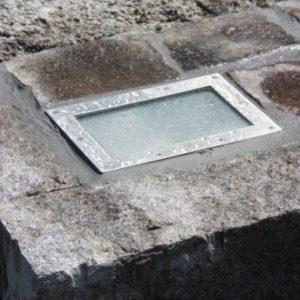 trappe i andesit mosaik