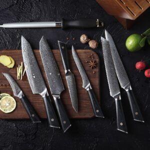 Kokkeknive sæt