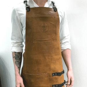 Læderforklæde