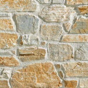 Rustik stenvæg - stenmur