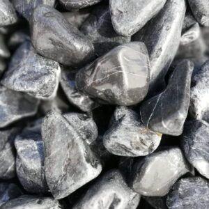 Sorte sten